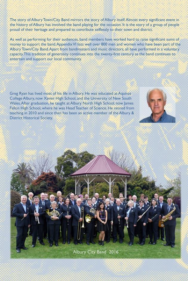 150 Years Entertaining our Community - Albury City Band