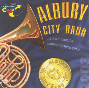 Albury City Band CD